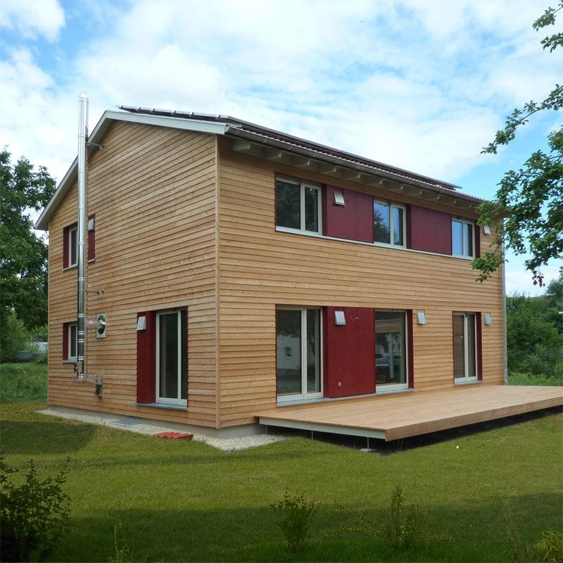 Holzhaus Bad Rodach Franken Thüringer Holzhaus