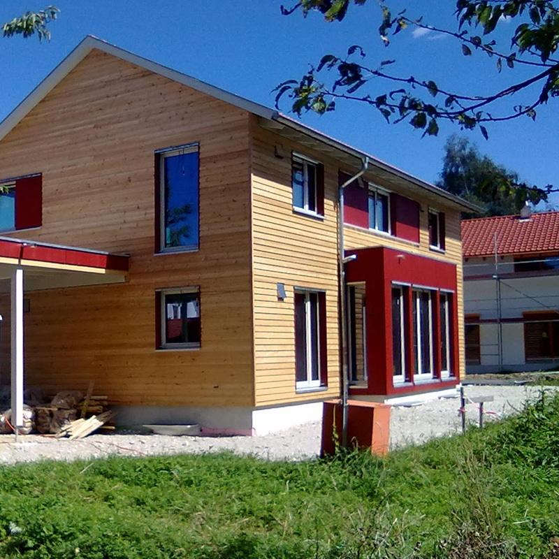 Holzhaus Ebersberg - Fassade