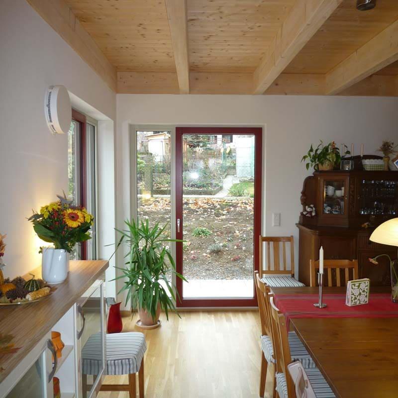 Holzhaus Hof