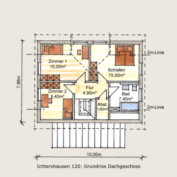 Holzhaus Ichtershausen 120m² Dachgeschoß