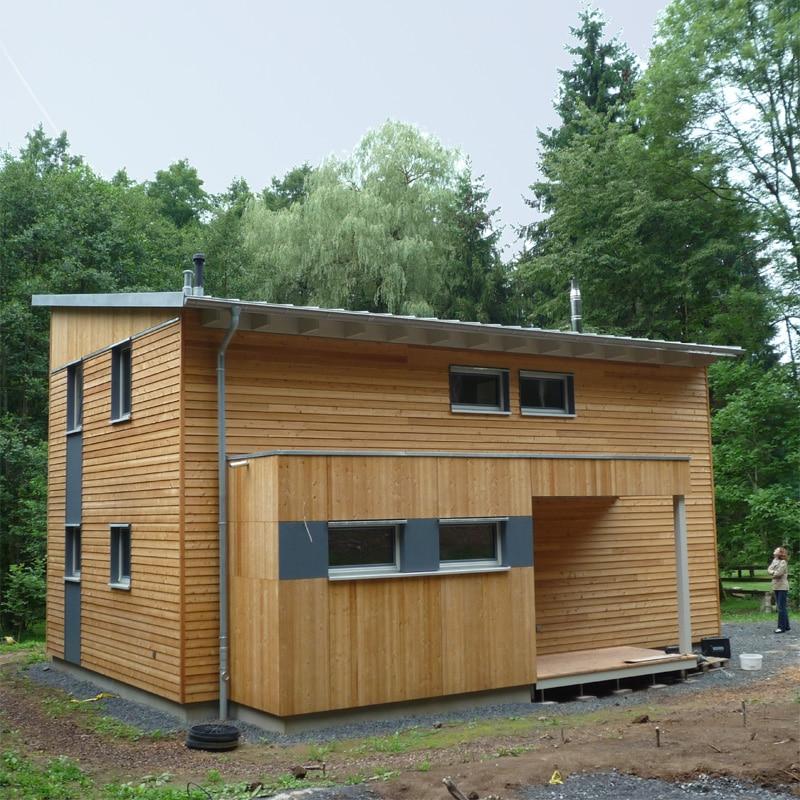 fence house design passivhaus holz. Black Bedroom Furniture Sets. Home Design Ideas