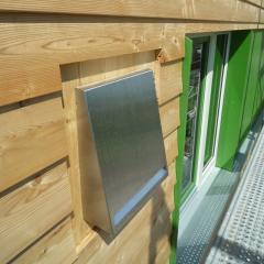 Inventer Lüftungssystem im Edelstahlabdeckung