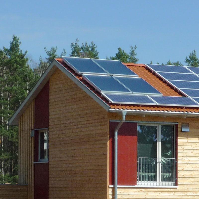Photovoltaikanlage, auch in Kombination mit Wärmepumpe