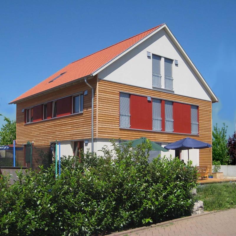 Holzhaus in w rzburg franken th ringer holzhaus for Grundriss einfamilienhaus 2 vollgeschosse