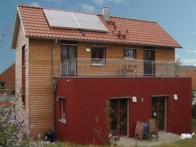 Holzhaus in Zell (Franken)