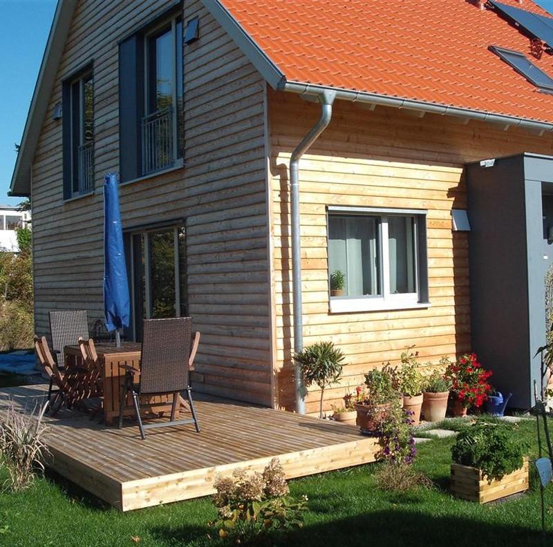 Holzhaus in Hailfingen: ow800 14 3