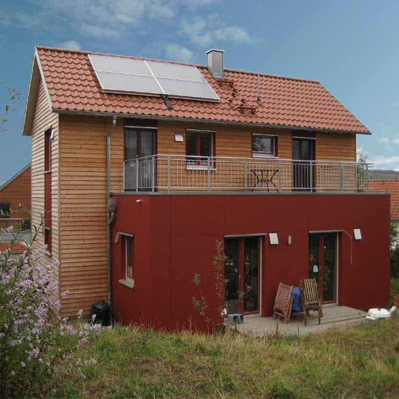 Holzhaus in Zell (Franken): ws800 6 1