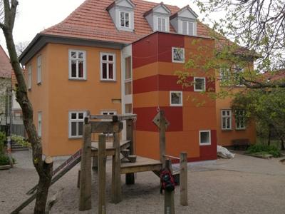 Treppenhaus für Kindergarten