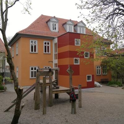 Treppenhaus für Kindergarten:  2