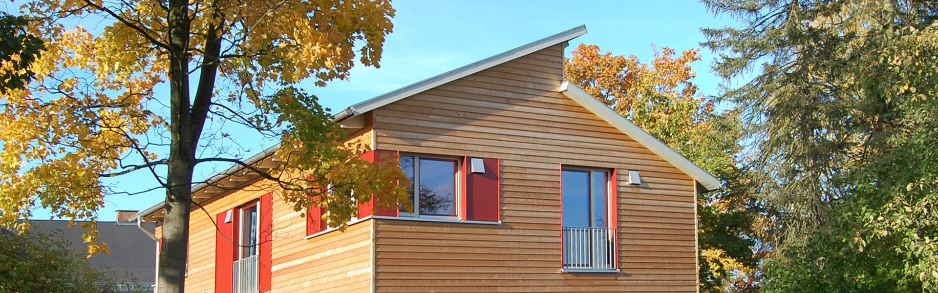 Holzhaus in Hof (Franken)
