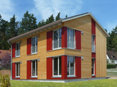 Holzhaus Projekte von 140 bis 160 m²