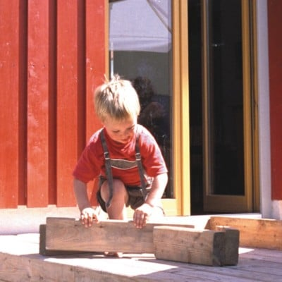 Wohngesund im Holzhaus – Haus aus Lehm