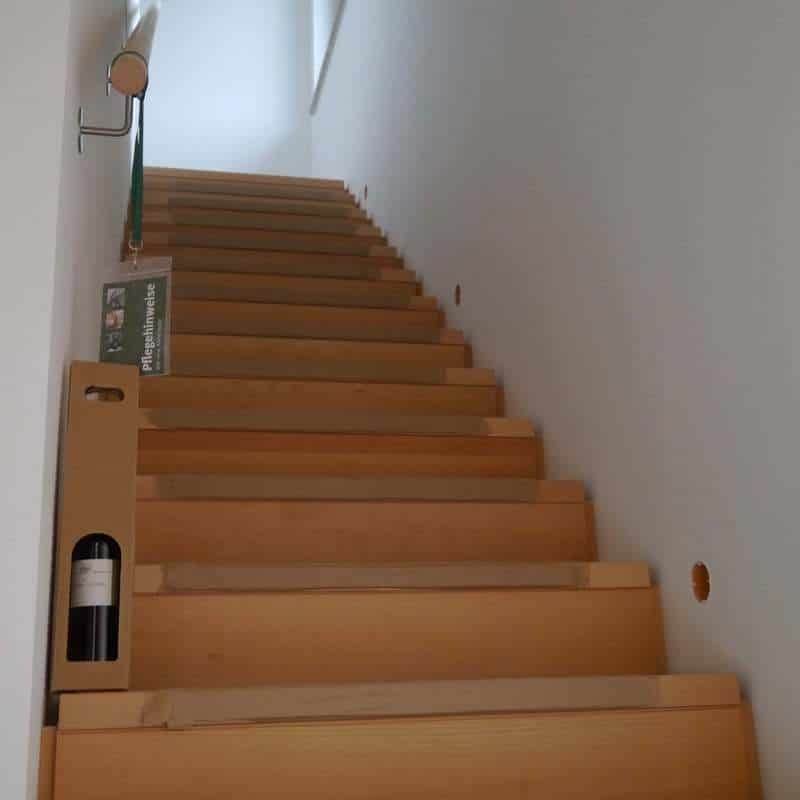 Holzhaus in Rednitzhembach (Franken): Holzhaus 140814 05 Treppe 10