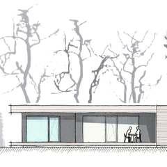 wohnen auf einer ebene im holzhaus th ringer holzhaus. Black Bedroom Furniture Sets. Home Design Ideas