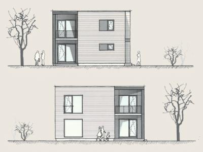 Holzhaus Entwürfe & Konzepte