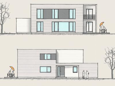Wohnen und Arbeiten im Holzhaus
