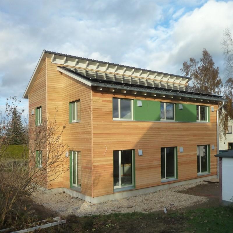Holzhaus in Stollberg mit Erdwärmepumpe: Holzhaus Stollberg 11 8