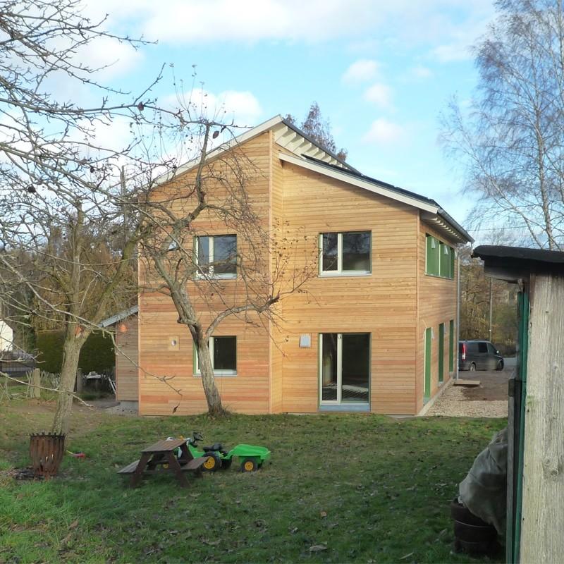 Holzhaus in Stollberg mit Erdwärmepumpe: Holzhaus Stollberg 12 9