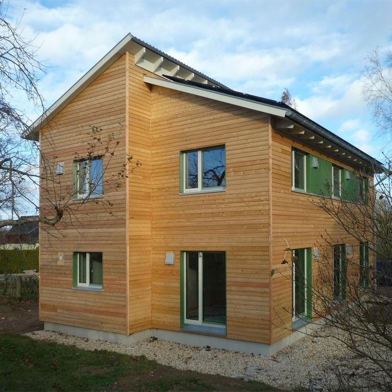 Holzhaus in Stollberg mit Erdwärmepumpe: Holzhaus Stollberg 13 10