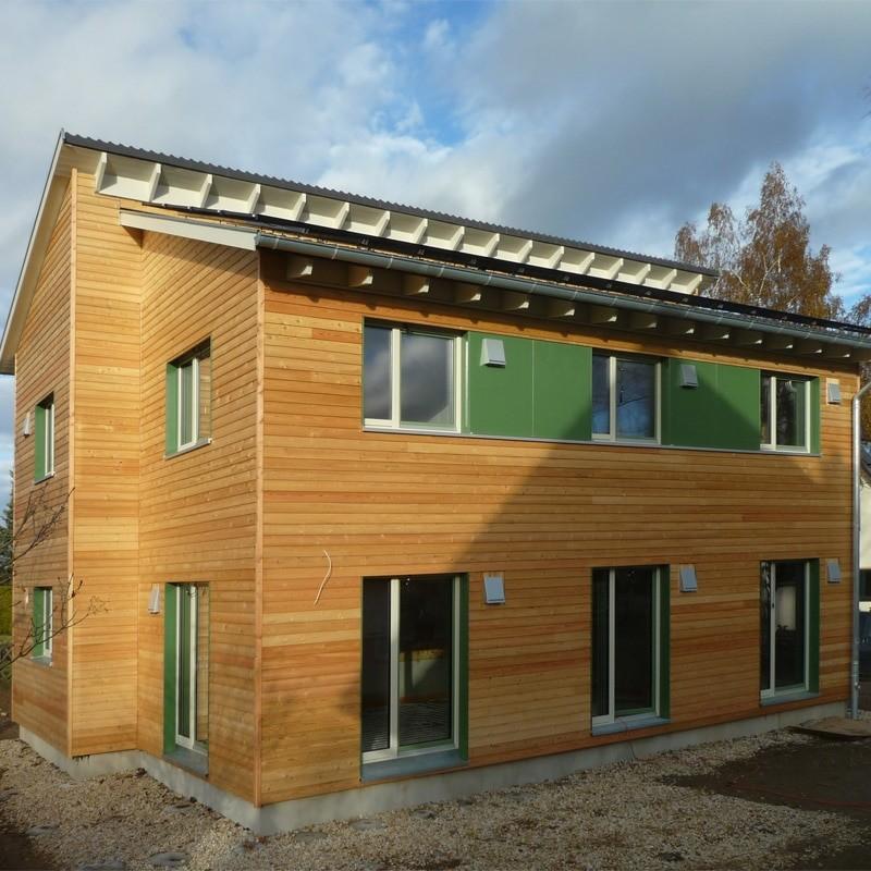 Holzhaus in Stollberg mit Erdwärmepumpe: Holzhaus Stollberg 8 13