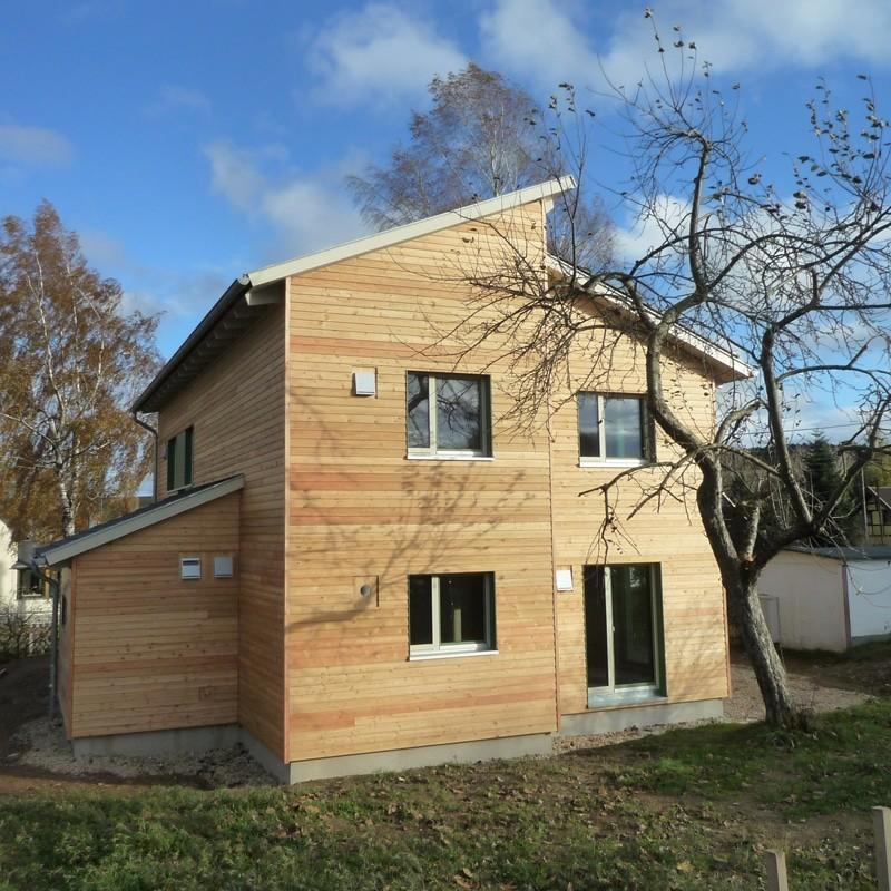 Holzhaus in Stollberg mit Erdwärmepumpe: Holzhaus Stollberg 9 14