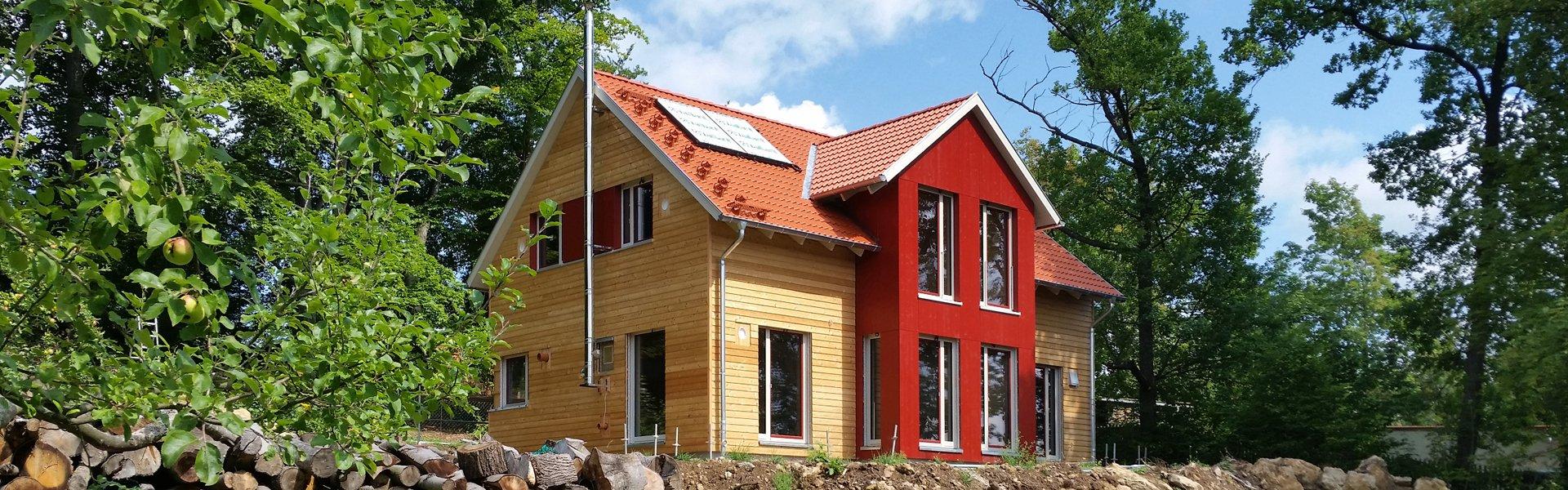 Holzhaus in Pößneck