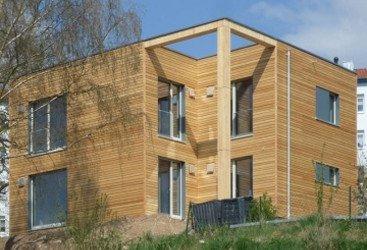 Holzhaus in Meiningen