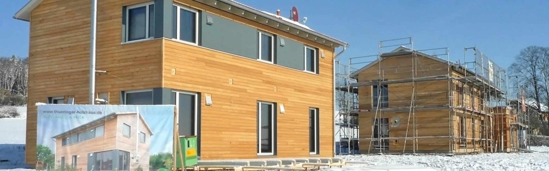 Thüringer Holzhaus Projekte