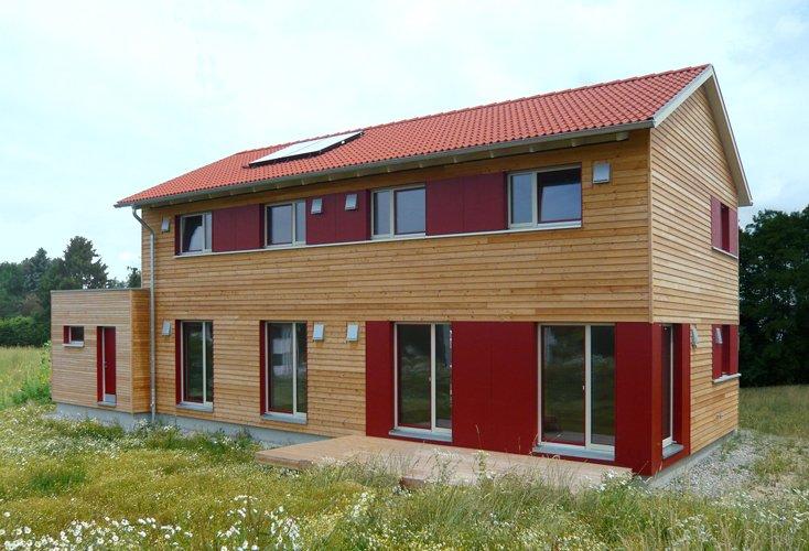 Holzhaus in Jagstzell