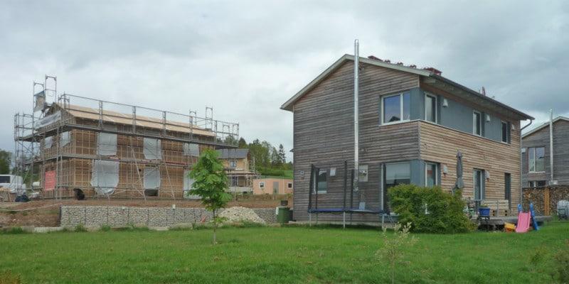 Es geht weiter! – Holzhaus in Michelau: Holzhaus Michelau 2 3