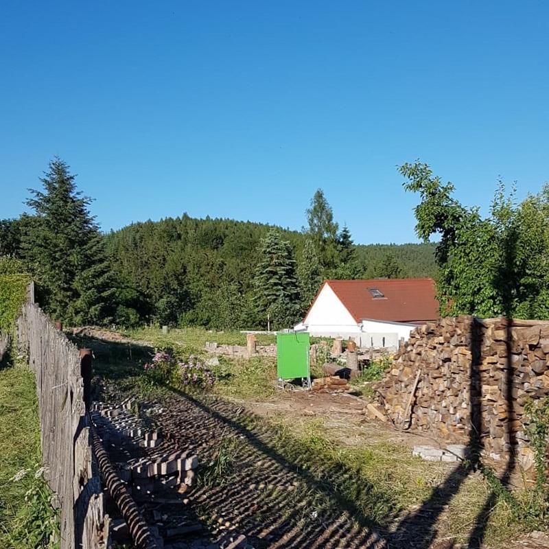 Holzhaus Wasungen 1