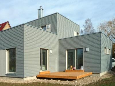 Projekt Holzhaus in Legefeld