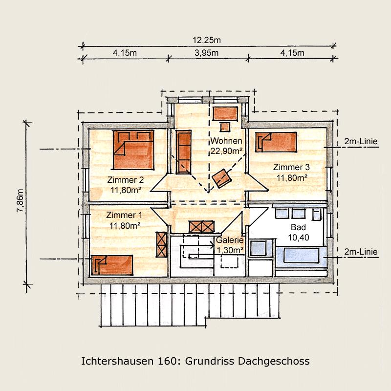 Holzhaus Ichtershausen: Holzhaus Ichtershausen 160 OG 9