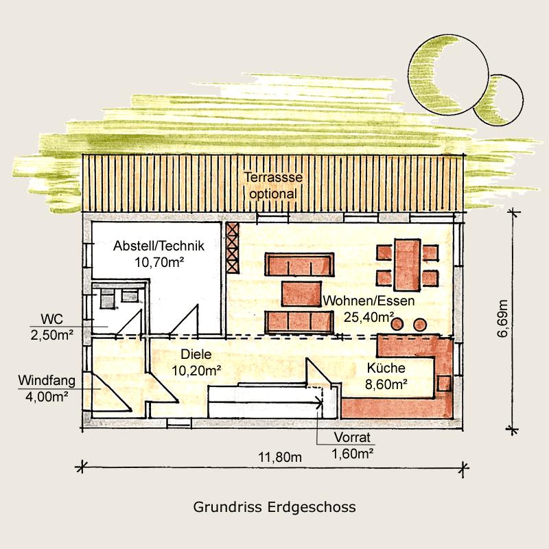 Holzhaus Sömmerda: Holzhaus Sömmerda 125 EG 1 9
