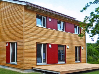 Beispielhaus: Holzhaus Jena