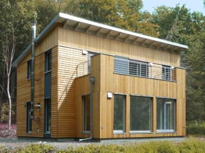 Beispielhaus: Holzhaus Laubach