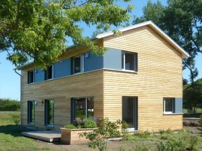 Beispielhaus: Holzhaus Sömmerda (Einfamilienhaus)