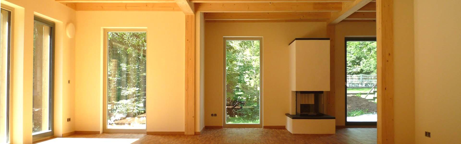 Wohngesunde Holzhäuser
