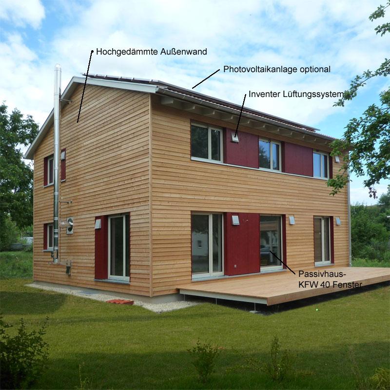 natürlichPASSIV Holzhaus: Holzhaus Bad Rodach 8p 1