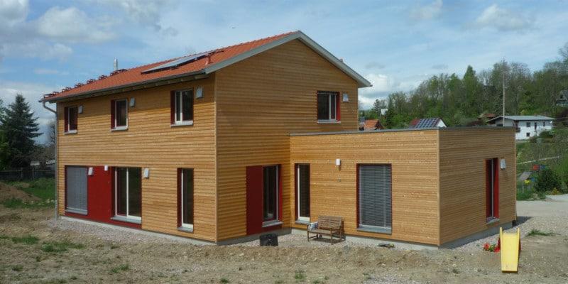 Fünf neue Holzhäuser: Holzhaus 2020 1 5