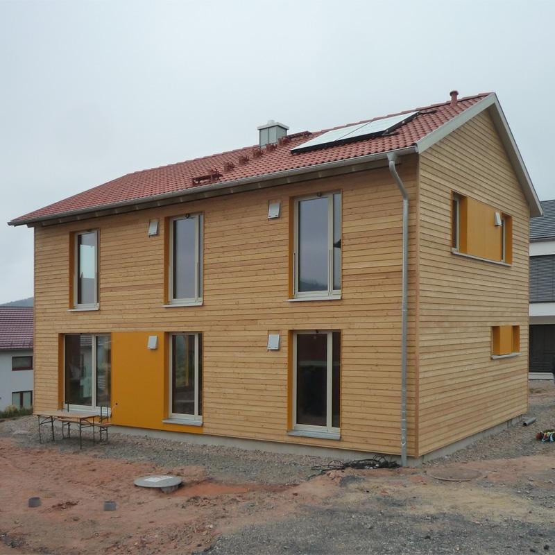 Fünf neue Holzhäuser: Holzhaus 2020 4 4